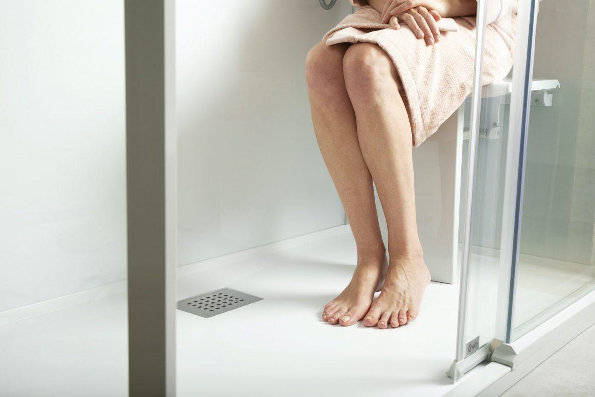 veilig douchen met Kinemagic