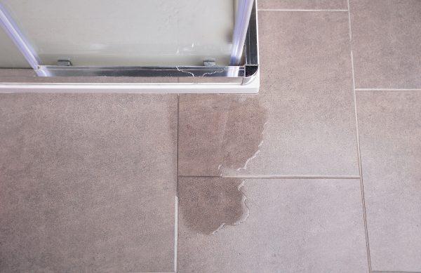 Repérer une fuite dans votre douche